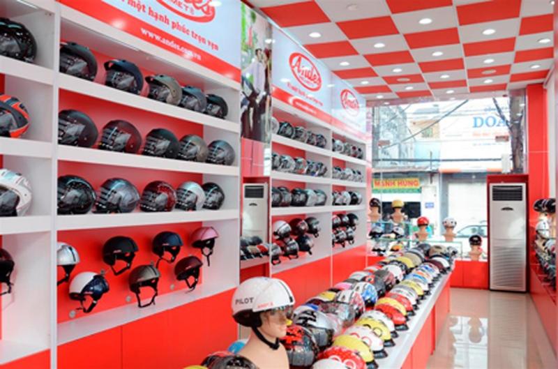 Mũ bảo hiểm chính hãng giá rẻ tại TPHCM