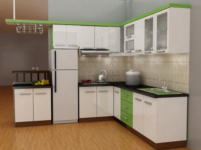 Nhà bếp đầy đủ tiện nghi, sạch sẽ, là nơi nghỉ giải lao khi công việc căng thẳng